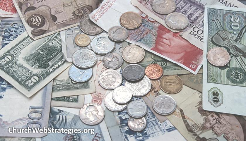 Donations on your Church Website (Part 2): Types of Donations