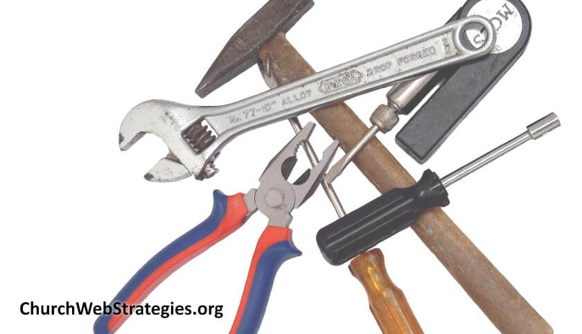 pile of various hand tools